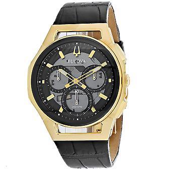 Bulova Men's Curv Grey Dial Watch - 97A143