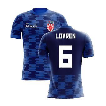 2020-2021 كرواتيا بعيدا مفهوم قميص (لوفرين 6) - أطفال