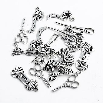 Mix Jewelry Diy Tibetan Silver Charms Pendants For Necklace