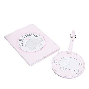 Roze de Houder en de Markering van het Paspoort van de Baby