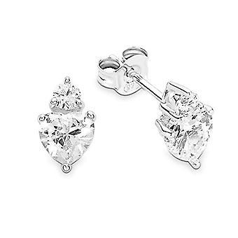 Bijoux häll tous Donna 925 Vit silver Zirkoniumoxid FINEEARRING