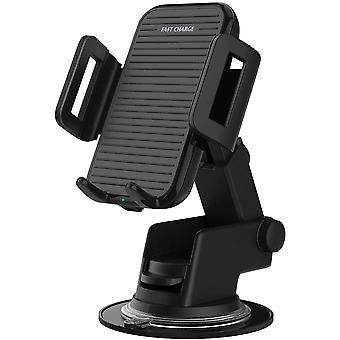 FengChun Wireless Car Charger, Car Fast Charger Stand with Retractable Suction Cup Stand Outlet