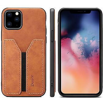 Wallet leather case card slot for iphone7plus/8plus brown on495