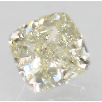 معتمد 0.79 قيراط I لون VVS1 وسادة الماس فضفاضة الطبيعية 4.93x4.89mm