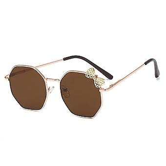 Fashion Bow Metal Sun Glasses