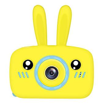 Rabbit yellow portable full-hd 1080p digital mini camera for kids child az964