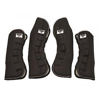 Saxon Pony/horse Travel Boots - Black