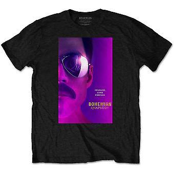 Königin - Freddie Herren kleines T-Shirt - schwarz