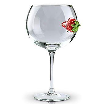 Ice & Slice Balloon Copa Glass - Fragola