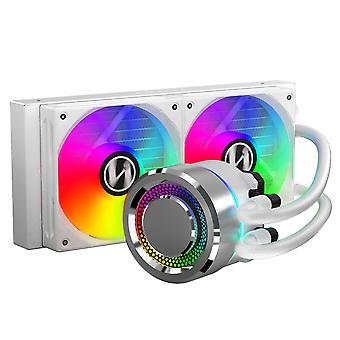 Lian-Li GALAHAD 240mm High Performance RGB CPU Water Cooler - White