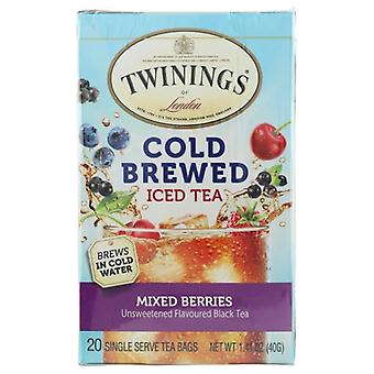 Twining Tea Tea Cold Brw Mxd Berries, Case of 6 X 20 Bags