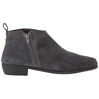 Aerosoles Womens step it u Suede Almond Toe Ankle Cowboy Boots