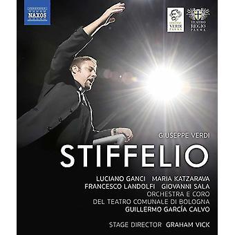 Stiffelio [DVD] USA import