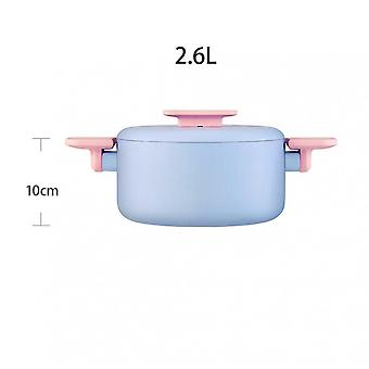 Sanho Cookware National Color Tim Fragrance Series Non-stick Soup High Pot 20cm Stock Pot 3mm Thickened High Stock Pot Gas Induction Cooker Universal