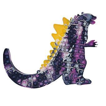 New luminous large size dinosaur pops its fidget toys high-capacity fold waterproof kawaii anti stress figet toy adult kids gift