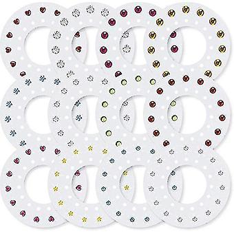 Blingers Deluxe Set Com 180 Múltiplas Cores De Cores Gems -girls Diy Crystal