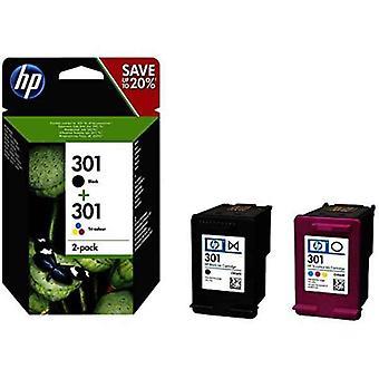 Cartouche d'encre compatible HP 301 Noir Tricolor