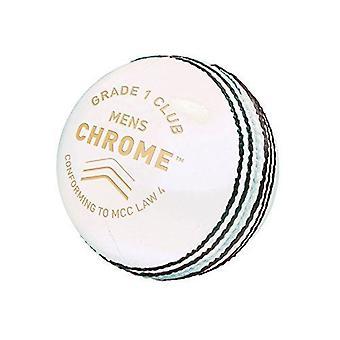 Gunn & Moore GM Cricket Chrome Grade 1 Club Ball Engelsk Skinn - Herre
