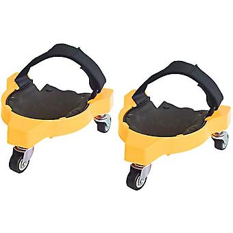 Gardening Tools Memory Foam Knee Pads, Convenient, Durable And Comfortable (yellow)