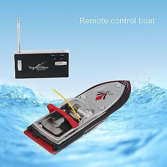 Bärbar mikroradio Rc Control Super Höghastighets elektriska racing båtleksaker