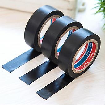 Household Tools Black Pvc Waterproof Self-adhesive Tape  Electrician Wire Insulation Flame Retardant Plastic Tape Drop Shipping