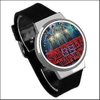 Reloj táctil digital Led luminoso impermeable - Stranger Things