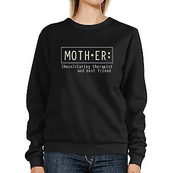 المعالج الأم وصديق البلوز السوداء أفضل الأمهات هدية عيد