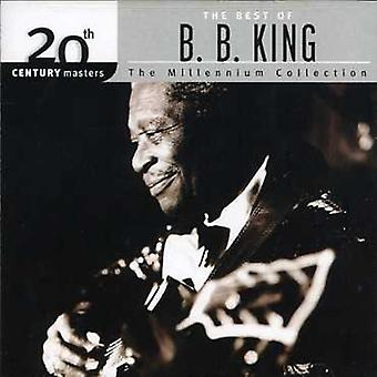 B.B. King - importation USA millénaire Collection-20th Century Masters [CD]