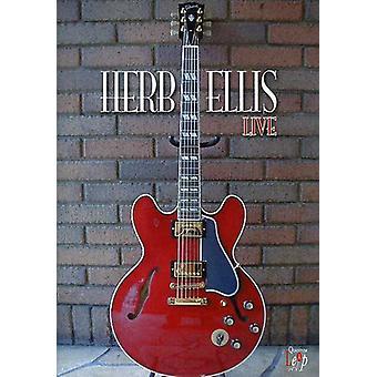 Herb Ellis - Live [DVD] USA import