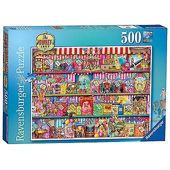 Ravensburger головоломка сладкий магазин (500 шт)