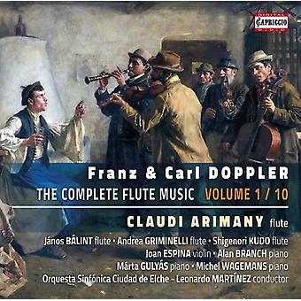 Doppler / Doppler / Arimany / Balint / Griminelli - Franz & Carl Doppler: Complete Flute Music V1 [CD] USA import