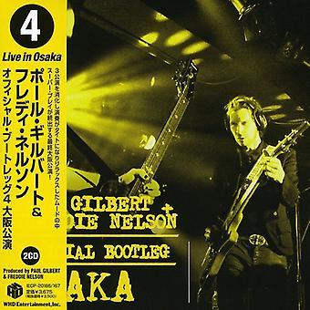 Paul Gilbert - officiell Bootleg Osaka [CD] USA import