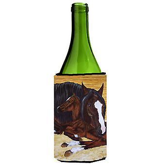 Lahden Mare varsa hevonen viinipullo juoma eriste Hugger