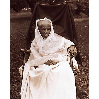 Harriet Tubman at Her Home in Auburn NY 1911 Poster Print by McMahan Photo Archive (8 x 10)