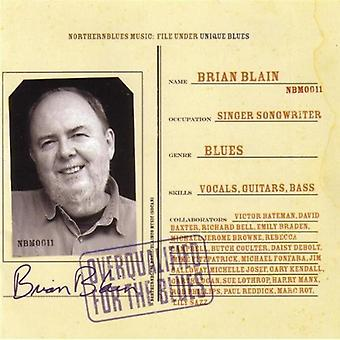 Brian Blain - Overqualified for the Blues [CD] USA import
