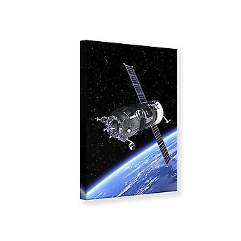 Canvas Print Flight into Space