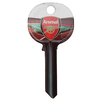 Arsenal FC Official Football Crest Key Blank