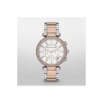 Michael Kors Ladies Watch Parker Two Tone Glitz MK5820
