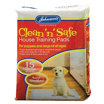 Johnsons House Training Pads (Pack Of 15)