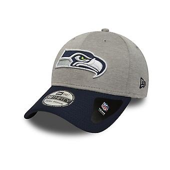 New Era Jersey Hex 39Thirty Seattle Seahawks Cap w szarym