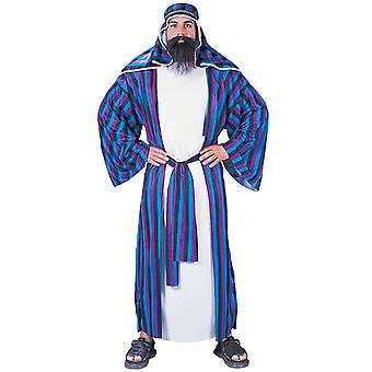 Chic Sheik Arab Arabian Ali Baba Sultan Dubai Gangster Mens Costume One Size