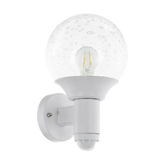 Eglo Al Wall Light / 1 M.Sensor Ws / Klar Sossano