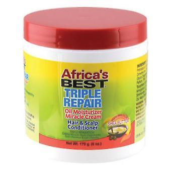 Afrikas beste Organics Triple Reparatur Wunder Creme Jar 6oz