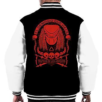 Predator Skull Collector Men's Varsity Jacket