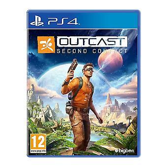 لعبة PS4 الاتصال الثاني منبوذة