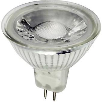 LightMe LED (monochromatyczny) EWG A+ (A++ - E) GU5.3 Reflektor 5 W = 35 W Ciepły biały (Ø x L) 50 mm x 45 mm 1 szt.