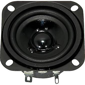 Visaton FR 58 / 4 OHM 2,3 tommers 5,8 cm Wideband høyttaler chassis 10 W 4 Ω