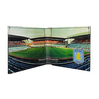 Aston Villa FC Official Football Stadium Leather Wallet