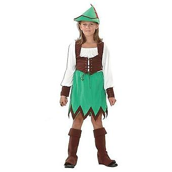 Bnov Robin des bois fille Costume (Deluxe)