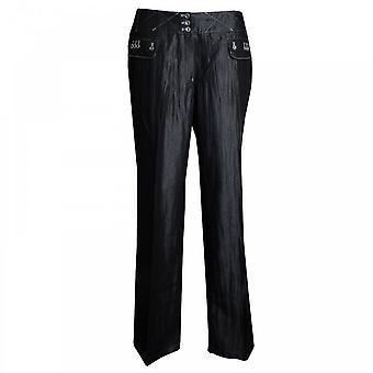 Tuzzi Women's Straight Leg Long Trousers